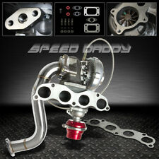 T04E TURBO KIT MANIFOLD+DOWNPIPE+WASTEGATE 06-11 HONDA CIVIC Si FA5/FG2 K20Z3