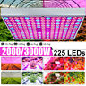 AUGIENB 3000W LED Grow Light Hydroponic Full Spectrum Indoor Lamp Panel Flower