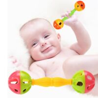 Baby Shaking Dumbells Rattles Bell Early Toys Intelligence Development Gift