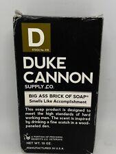 New - Duke Cannon - Big Ass Brick of Soap - Accomplishment - Free Shipping