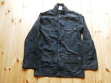 CARHARTT scolorito Nero Cotone Leggero Camicia BUTTON DOWN JACKET SCACCHI Piccolo