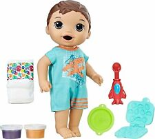 Baby Alive Super Snacks Snackin' Luke (Brunette)