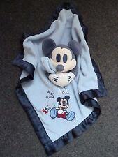 Rare Disney Baby Mickey Mouse No 1 Best Friend Blankie Comforter blanket  *