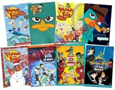 Phineas and Ferb Disney TV Series + Films DVD Set Collection All Bundle Kids Lot