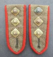 WW1 AIF AUSTRALIAN MILITARY OFFICERS SHOULDER  BOARDS AND PIPS