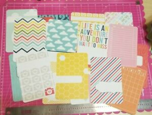 Project Life 4 x 6 (20) Cards Assorted Journaling & Insert