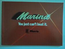 MORRIS MARINA RANGE orig 1974 UK Mkt Sales Brochure - BL 2968/A