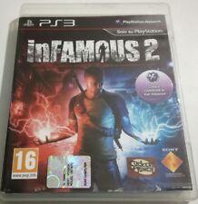 INFAMOUS 2 GIOCO PS3 PLAYSTATION 3 ITALIANO OTTIMO SPED GRATIS SU + ACQUISTI!!