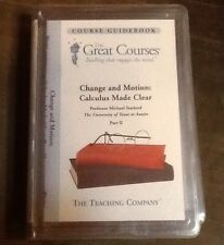 Teaching Company, Change And Motion, Calculus Made Clear Dvd