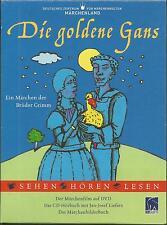 Die goldene Gans (DVD + Audio-CD + Buch) - DEFA DDR - Neu!