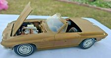 VINTAGE AMT ANNUAL 1963 CHEVY CORVETTE CONVERTIBLE KIT NICELY BUILT