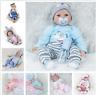 Realistic Reborn Dolls Baby Lifelike Vinyl Fake Girl Boy Newborn Xmas Gift Toy