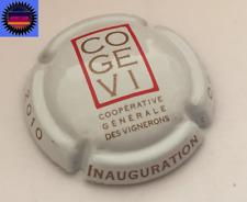 Capsule de Champagne CO.GE.VI Cuvée Inauguration 2010 n°18 Cote 5 !!