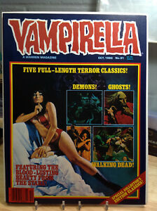 VAMPIRELLA #91 (OCT1980) VF/NM WARREN MAGAZINE