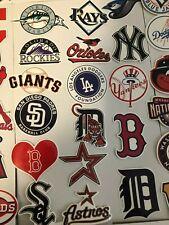 Mlb Team Logo, Players, Baseball Die Cut Stickers (waterproof) -Choose Favorite