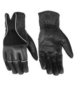 Leather / Mesh Summer Glove