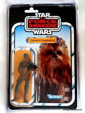 STAR WARS Vintage Custom Carded GENERAL CHEWBACCA 3.75 Inch Action Figure MOC