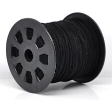 Special Listing for 1547burnsy - One Reel of Black Suede Effect Cord