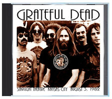 GRATEFUL DEAD at Starlight Theatre in KCMO, Summer of '82, LIVE on CD