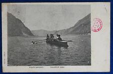 CANOTTIERI LECCO Regate Nazionali viaggiata 1901 f/p #22061