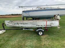 New listing Aluminum Fishing Boat, Trailer and 9.9Hp Outboard