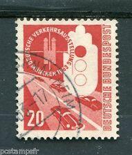 ALLEMAGNE FEDERALE, 1953, timbre 55, AUTOMOBILES, EXPO TRANSPORTS, oblitéré