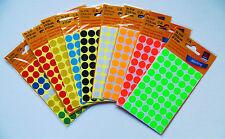 270 Markierungspunkte 12mm Durchmesser Farbe frei wählbar Klebepunkte Avery