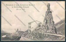 Aosta Piccolo San Bernardo cartolina C2298 SZD