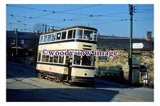 gw0402 - Sheffield Tram no 286 at Woodseats - photograph