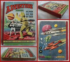 The Adventure Annual. Vintage hardback pulp Sci-fi, Cowboys, Pirates, Explorers