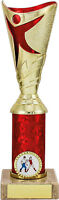 Gold & Red Dance Trophy,Achievement,7 Sizes,Free Engraving (1779/83) mup