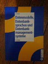 Datenmodelle, Datenbanksprachen und Datenbankmanagements, G. Vossen, 4. Auflage