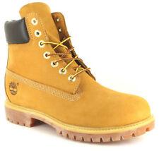 Stivali , anfibi e scarponcini da uomo casual gialli Materiale 100 % pelle