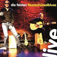 DIE FEISTEN - NUSSSCHÜSSELBLUES LIVE  2 CD NEU