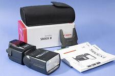 Canon Speedlite 580EX II Aufsteckblitz, Blitzgerät mit Tasche, Stativ und OVP