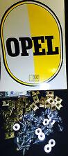 Nuevo ORIG Opel kit ANCLAJE FIJACION 30 x guardabarros Skt-tornillo + junta CIH