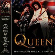 Queen - Houston We Have No Problem Japan Edition RED, WHITE & BLUE VINYL LP