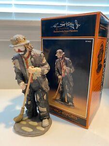 """Emmet Kelly Jr. 7945 In The Spotlight 10"""" Clown Figurine #7675/12000"""