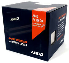 AMD FX-8350 8-core Prozessor 4.00GHz boxed mit Wraith Kühler (FD8350FRHKHBX)