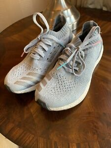 grey adidas Ultra Boost Trainers Size 6