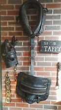 pit pony vintage leather set horse bridle colliery or canal?
