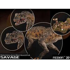 1/35 REBOR Ceratosaurus Dentisulcatus Savage PVC Dinosaur Museum Class Model