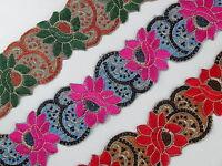 02 Cm wide Braid Trim Upholstery Edging Border Sew Crafts Gimp Costume  T397
