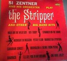 The Stripper and Other Big Band Hits Si Zentner And His Orchestra Vinyl Lp 1962