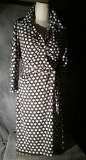 Laundry By Shell Segal, Medium Woman's Dress, Black Ivory and gold Pattern