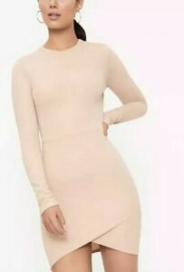 Pretty little thing dress UK 10 - 12 women's nude bodycon ladies party