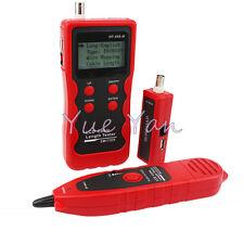 NF868 Multipurpose Digital Cable Tracker for Length Test USB RJ11RJ45 WireTracer