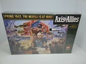 Axis and Allies: Spring 1942, The World is at War! WWII Strategy Game. NEW!!