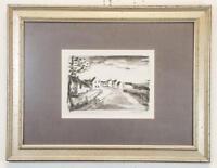 MAURICE DE VLAMINCK Original Art Hand Signed Lithograph Nelle-la-Vallee Route