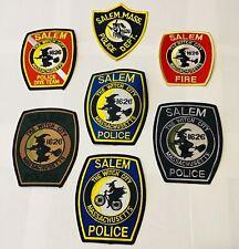 Salem Massachusetts NOW Compete Collectors Only Patch Set